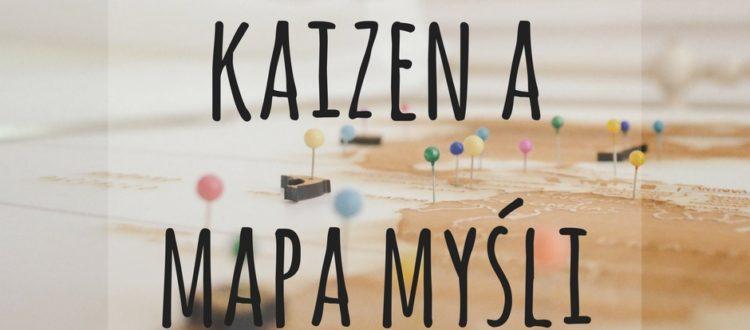 kaizen a mapa myśli